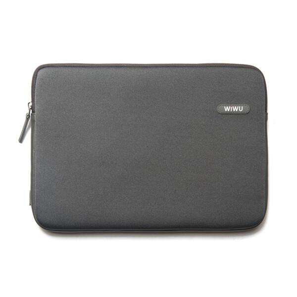 """Влагозащитный чехол-сумка WIWU Classic Sleeve Grey для Macbook Pro 15"""""""