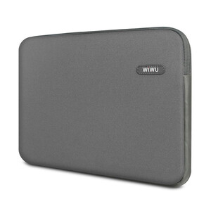 """Купить Влагозащитный чехол-сумка WIWU Classic Sleeve Grey для Macbook Pro 13"""""""
