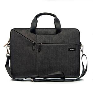 """Купить Нейлоновая сумка WIWU GearMax City Commuter Bag Black для MacBook 12""""/Air 11"""""""