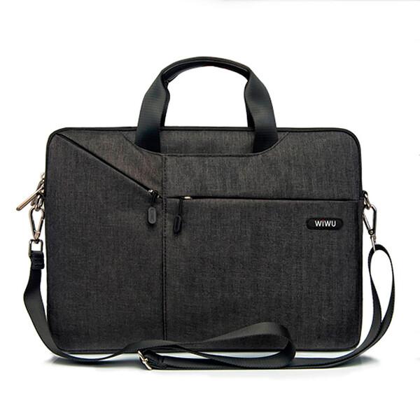 "Нейлоновая сумка WIWU GearMax City Commuter Bag Black для MacBook Air 11"" | 12"""