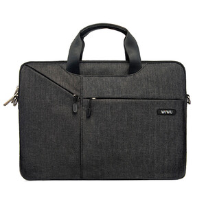 "Купить Нейлоновая сумка WIWU GearMax City Commuter Bag Black для MacBook Pro 13""/Air 13"""