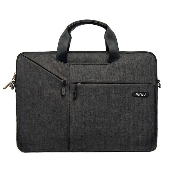 "Нейлоновая сумка WIWU GearMax City Commuter Bag Black для MacBook Pro 13""   Air 13"""