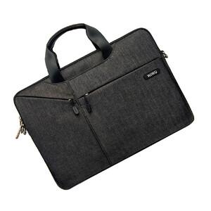 """Купить Нейлоновая сумка WIWU GearMax City Commuter Bag Black для MacBook Pro 16""""/Pro 15"""""""