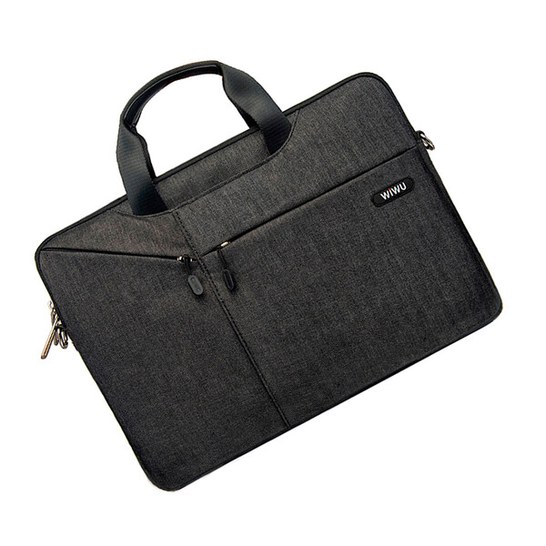 "Нейлоновая сумка WIWU GearMax City Commuter Bag Black для MacBook Pro 16""   Pro 15"""