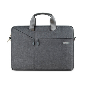 "Купить Нейлоновая сумка WIWU GearMax City Commuter Bag Grey для MacBook Pro 13""/Air 13"""