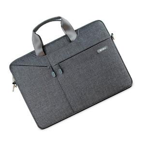 """Купить Нейлоновая сумка WIWU GearMax City Commuter Bag Grey для MacBook Pro 15"""""""