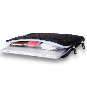 "Купить Чехол-сумка WIWU GearMax Diamond Sleeve Black для MacBook Pro 13"""