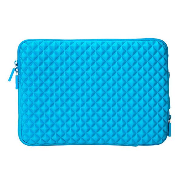 "Влагозащитный чехол-сумка WIWU GearMax Diamond Sleeve Blue для MacBook 12"" | Air 11"""