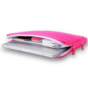 "Купить Чехол-сумка WIWU GearMax Diamond Sleeve Pink для MacBook Pro 13"""