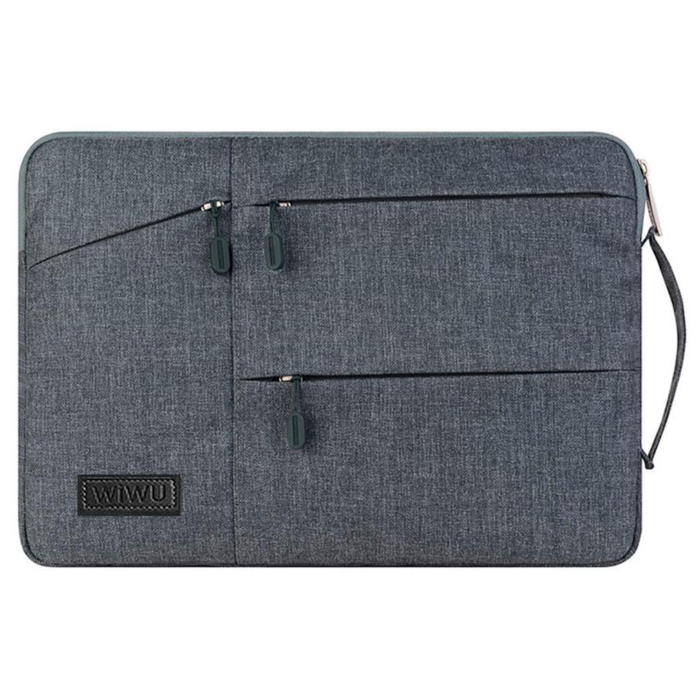 "Купить Чехол-сумка WIWU GearMax Traveler Sleeve Grey для MacBook Pro 16"" | Pro 15"""