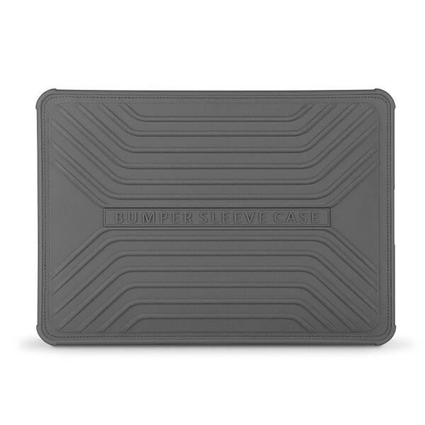 """Силиконовый чехол со встроенными магнитами WIWU GearMax Voyage Sleeve Grey для MacBook Pro 16""""   Pro 15"""" (2016   2017   2018)"""