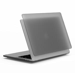 """Купить Пластиковая накладка WiWU iSHIELD Black для MacBook Air 13"""" (2020/2019/2018)"""