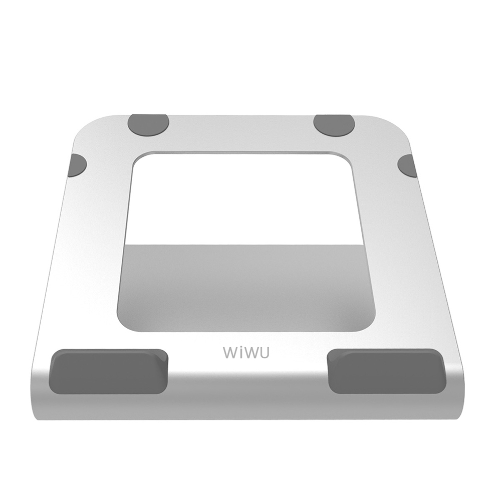 """Купить Алюминиевая подставка Wiwu Laptop Stand S200 Silver для MacBook 11""""   17"""""""