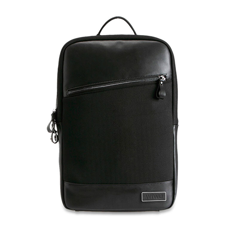 Рюкзак WIWU GearMax London Backpack Black/Black для MacBook