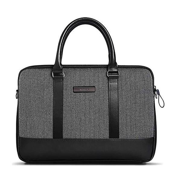 "Чехол-сумка WIWU London Brief Case Black для MacBook 13.3"""