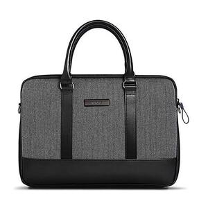 """Купить Чехол-сумка WIWU London Brief Case Black для MacBook 15.4"""""""
