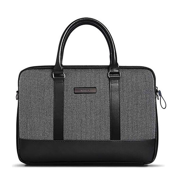 "Чехол-сумка WIWU London Brief Case Black для MacBook Pro 15"""
