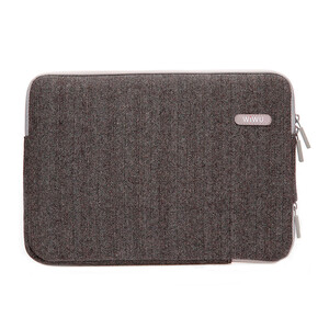 "Купить Чехол-сумка WIWU London Classic Sleeve Brown для MacBook 12""/Air 11"""