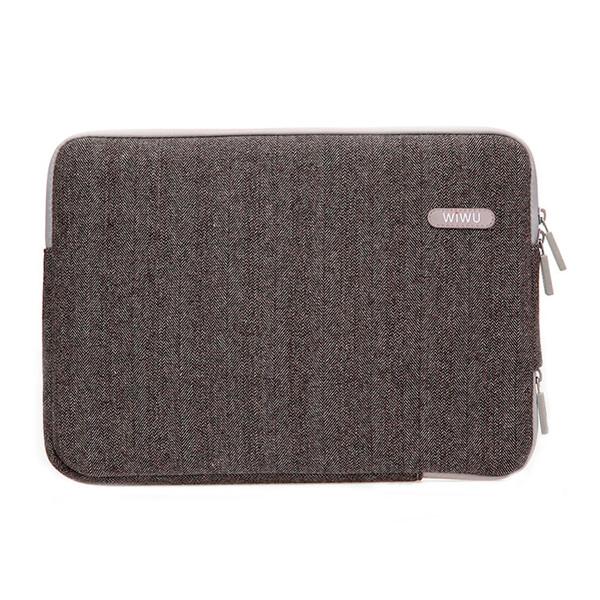 "Чехол-сумка WIWU London Classic Sleeve Brown для MacBook 12"" | Air 11"""