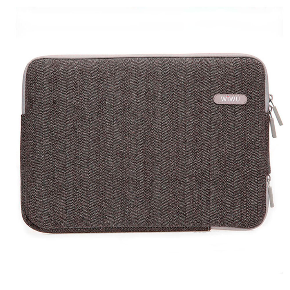 "Чехол-сумка WIWU London Classic Sleeve Brown для MacBook Air 13""/Pro 13"""
