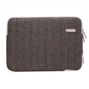 "Купить Чехол-сумка WIWU London Classic Sleeve Brown для MacBook Air 13""/Pro 13"""