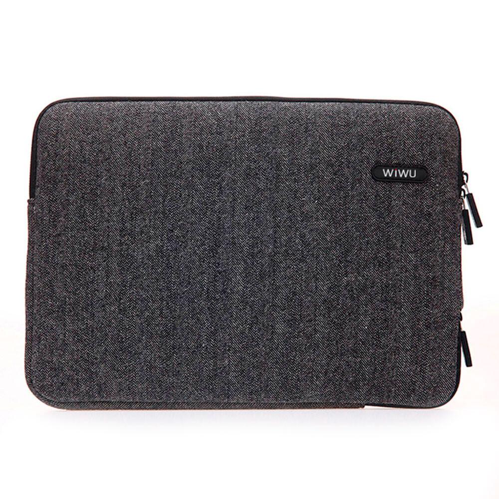 "Чехол-сумка WIWU London Classic Sleeve Black для MacBook Air 13""/Pro 13"""