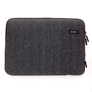 "Купить Чехол-сумка WIWU London Classic Sleeve Black для MacBook Air 13""/Pro 13"""