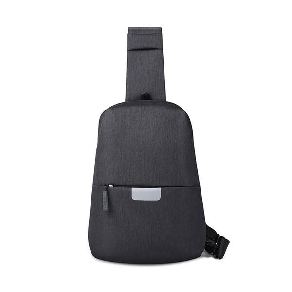 Рюкзак WIWU Mi+Chest Bag Black с выходом для наушников
