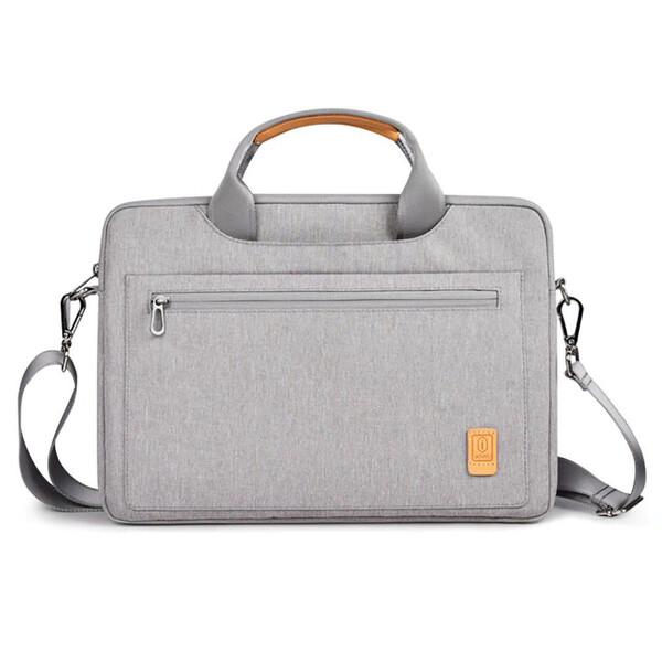 "Чехол-сумка WIWU Pioneer Gray для MacBook 13,3"""