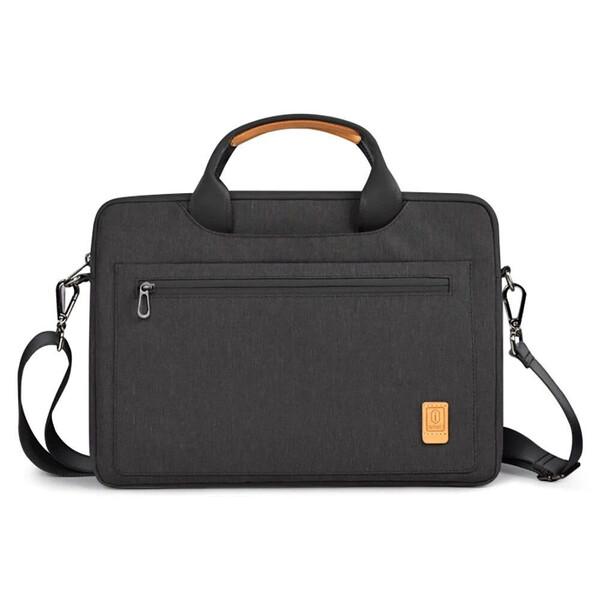 """Чехол-сумка WIWU Pioneer Black для MacBook 13,3"""""""