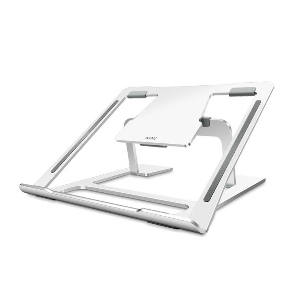 Купить Регулируемая подставка WIWU S100 Silver для iPad | MacBook