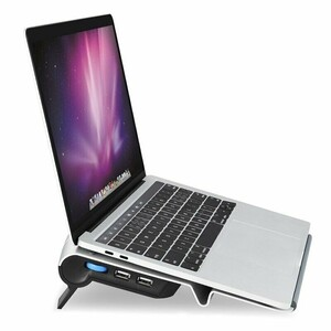 Купить Подставка WIWU S300 Fan Laptop Stand Silver для MacBook