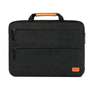 """Купить Влагозащитная сумка с подставкой WIWU Smart Stand Sleeve Black для MacBook Air 13""""/Pro 13"""""""