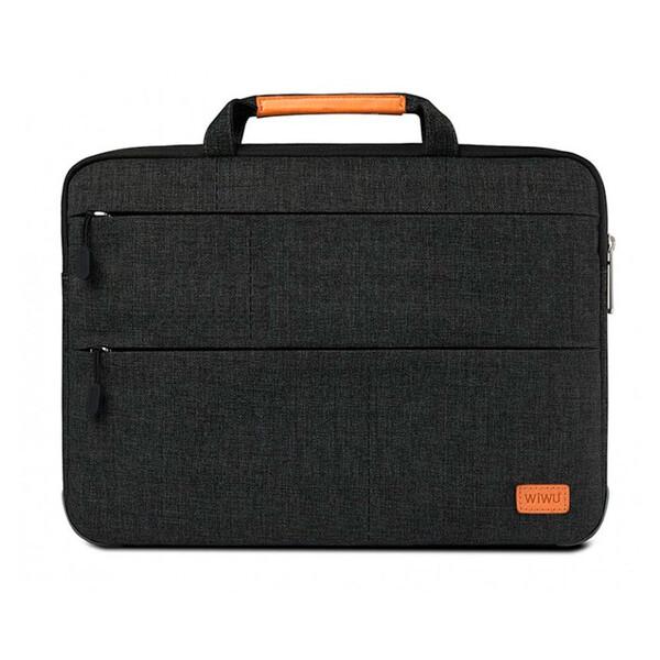 "Влагозащитная сумка с подставкой WIWU Smart Stand Sleeve Black для MacBook Air 13""   Pro 13"""