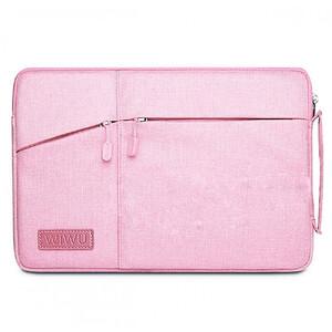 "Купить Чехол-сумка WIWU GearMax Traveler Sleeve Pink для MacBook 12""/Air 11"""