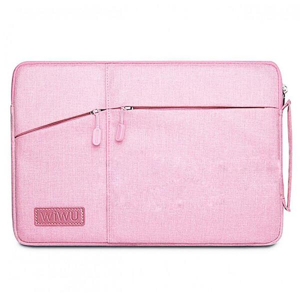 "Чехол-сумка WIWU GearMax Traveler Sleeve Pink для MacBook 12"" | Air 11"""