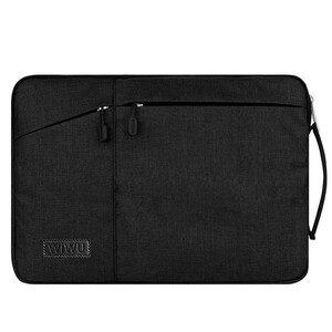 "Купить Чехол-сумка WIWU GearMax Traveler Sleeve Black для MacBook 12""/Air 11"""