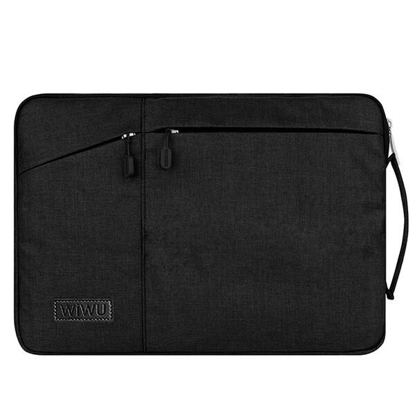 "Чехол-сумка WIWU GearMax Traveler Sleeve Black для MacBook 12"" | Air 11"""