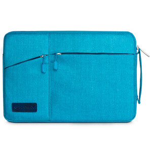 "Купить Чехол-сумка WIWU GearMax Traveler Sleeve Blue для MacBook 12""/Air 11"""