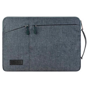 "Купить Чехол-сумка WIWU GearMax Traveler Sleeve Grey для MacBook 12""/Air 11"""