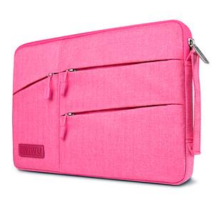 "Купить Чехол-сумка WIWU GearMax Traveler Sleeve Pink для MacBook Pro 13"""