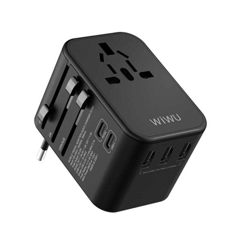 Купить Универсальное зарядное устройство WIWU UA303 Universal Travel Adapter