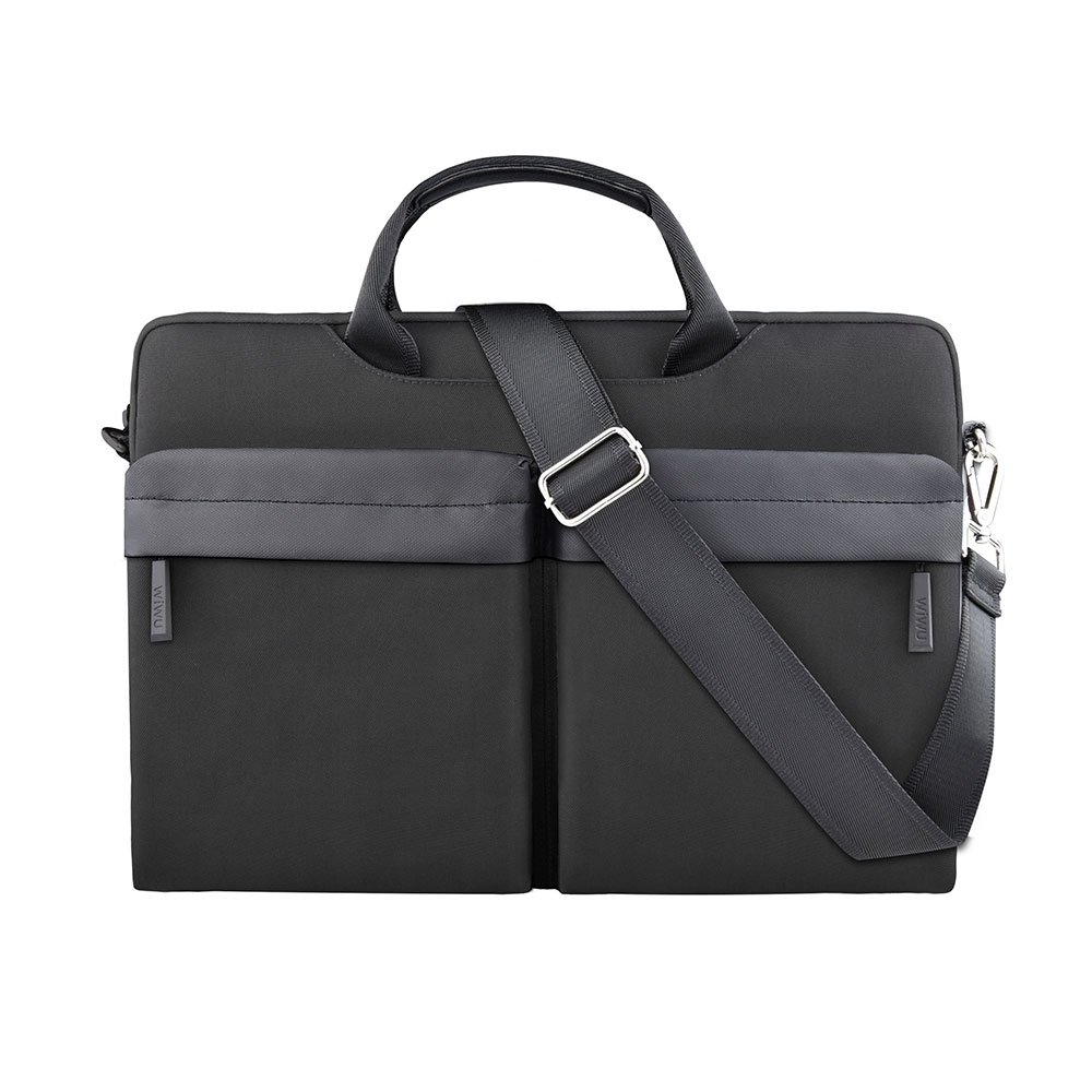 Купить Чехол-сумка WIWU Vigor Pocket Handbag Black для MacBook Air 13"