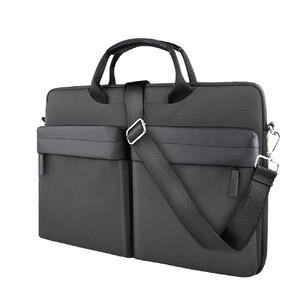 """Купить Чехол-сумка WIWU Vigor Pocket Handbag Black для MacBook 15"""""""