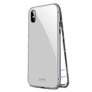 Купить Магнитный чехол WK DESIGN Magnetic Silver для iPhone X/XS