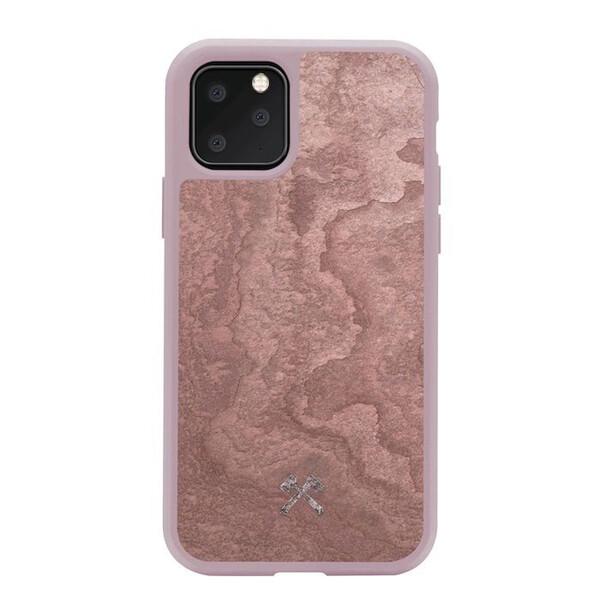 Чехол из натурального камня Woodcessories Bumper Case Stone Canyon Red для iPhone 11 Pro Max