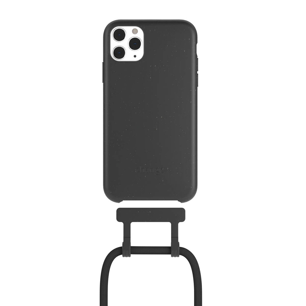 Чехол Woodcessories Necklace Bio AM Black для iPhone 11 Pro Max