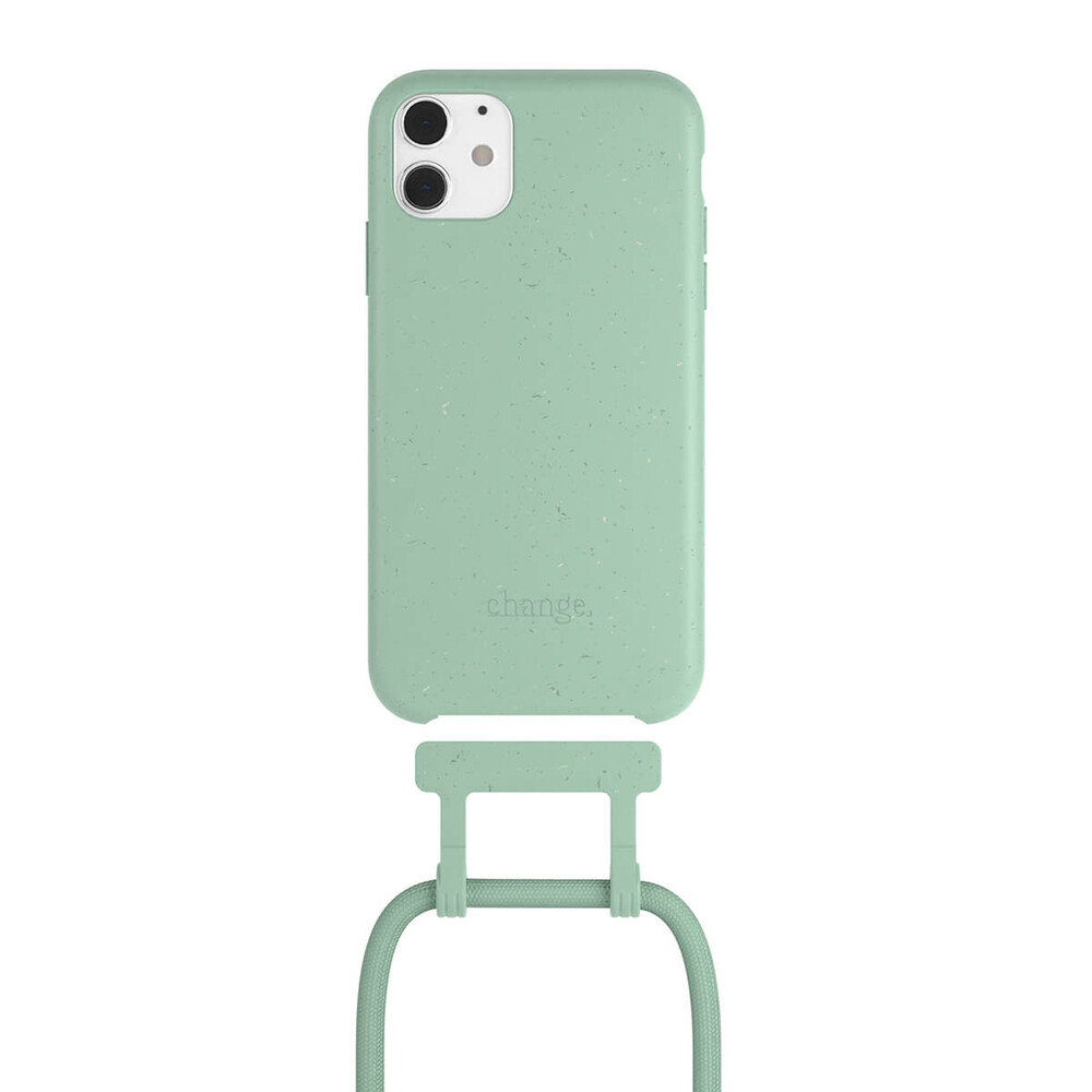 Чехол Woodcessories Necklace Bio AM Mint Green для iPhone 11 Pro