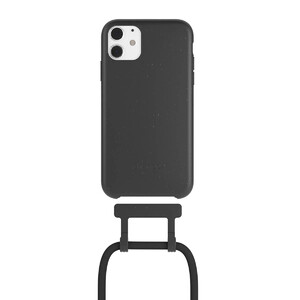 Купить Чехол Woodcessories Necklace Bio AM Black для iPhone 11