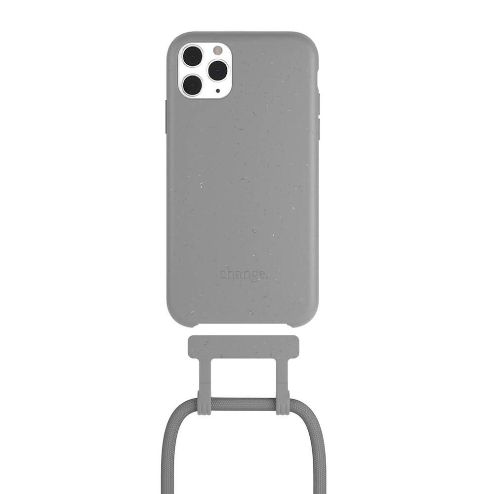 Чехол Woodcessories Necklace Bio AM Cool Grey для iPhone 11 Pro